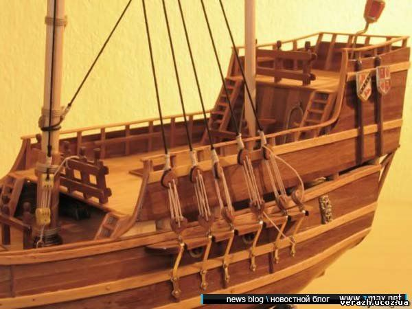 Как сделать корабль из дерева своими руками чертежи
